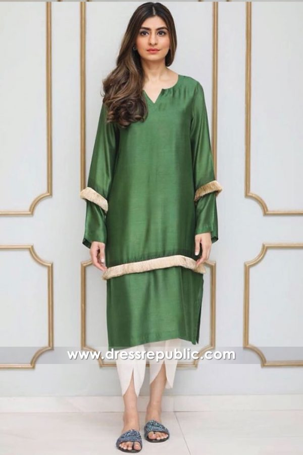 DR14922 Pakistani Street Style Dress 2018 London, Manchester, Birmingham, Sheffield