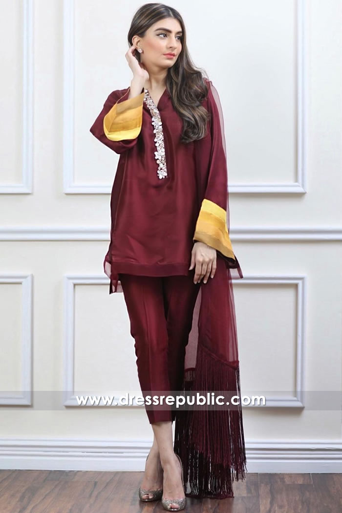 DR14927 Casual Dress Pakistani Toronto, Mississauga, Calgary, Vancouver, Canada