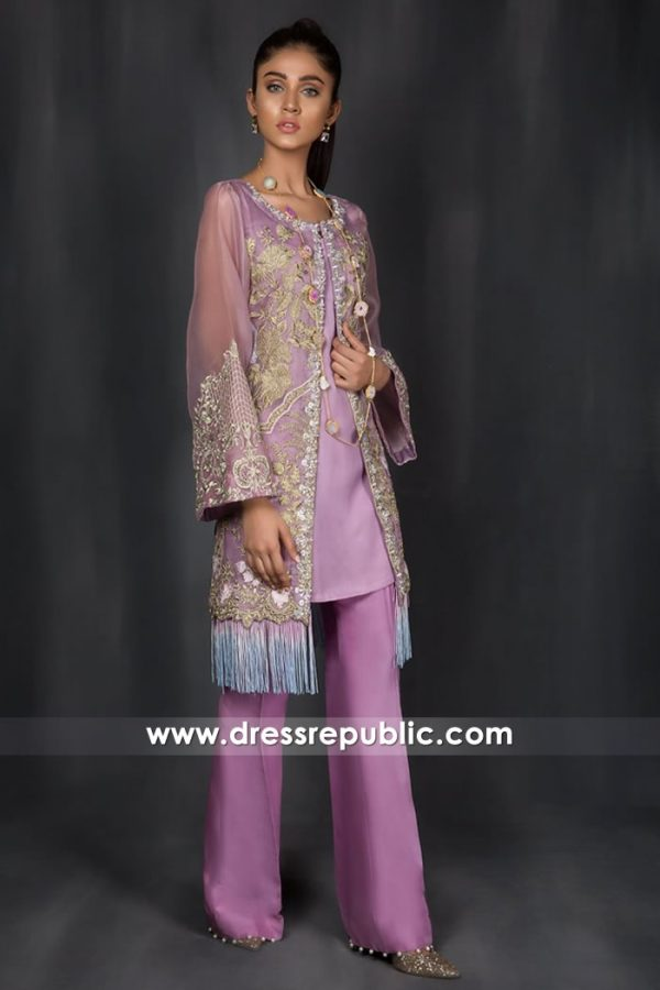 DR14966 Designer Trousers Suits For Eid ul Azha 2018 London, Manchester, UK