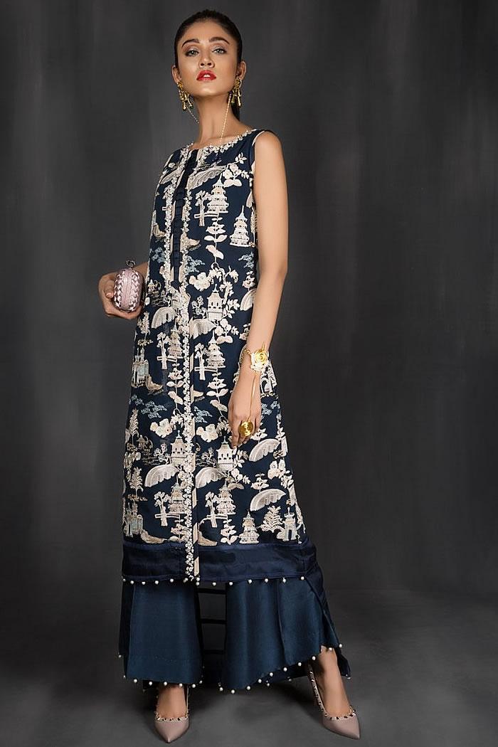 DR14971 Saira Shakira Pakistani Designer Suits Buy Online in Canada