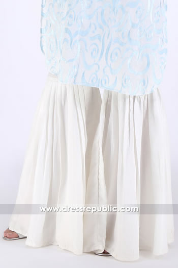 DRL1006 Cotton Two Legged Gharara Pants Online USA, UK, Canada, Australia