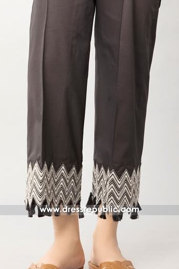 DRL1017 Embroidered Palazzo Pants for Kurti France, Belgium, Germany, Switzerland