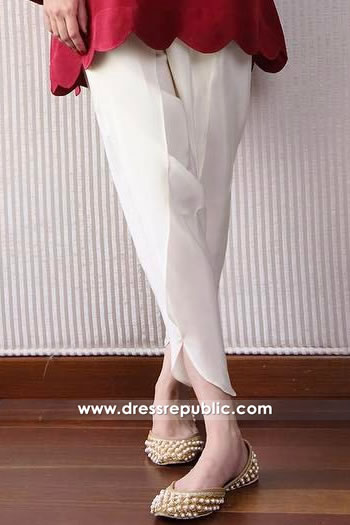 DRL1024 Tulip Pants with Kurti Online Buy in London, Manchester, Birmingham, UK