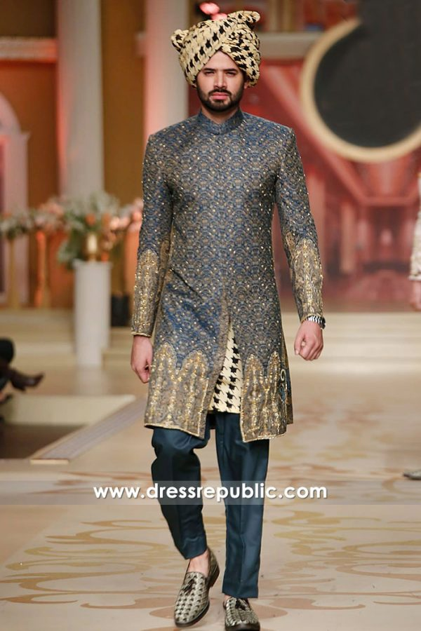 DRM5214 Junaid Jamshed Sherwani Hillcroft, Houston, Texas Shop Online