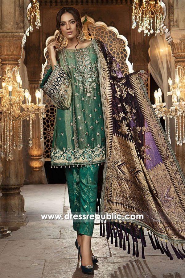 DRP7736 Maria B Mbroidered Eid 2018 Vol 2 Karachi, Lahore, Islamabad, Pakistan