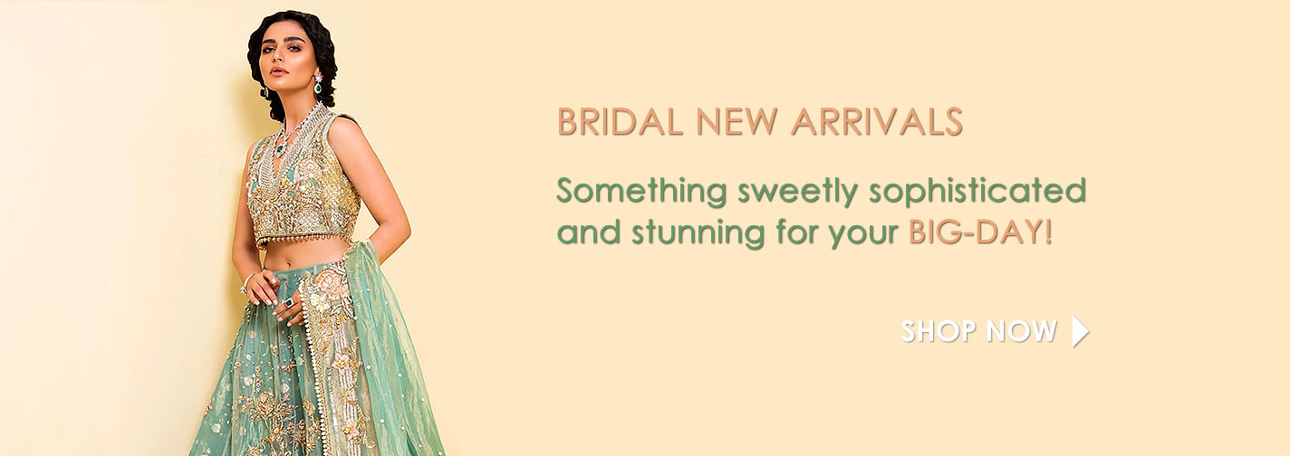 Latest Bridal Dresses Collection 2018, 2019 at Dress Republic