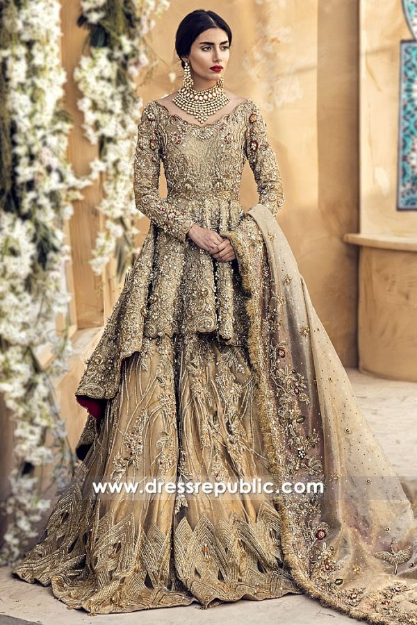 DR14986 Suffuse Bridal Lehenga 2018 London, Manchester, Birmingham, Sheffield