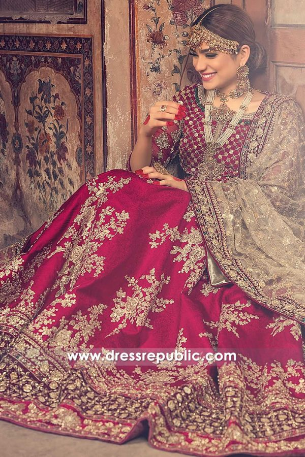 DR15006 Maria B Bridal Lehenga 2018 California, New York, New Jersey, Texas