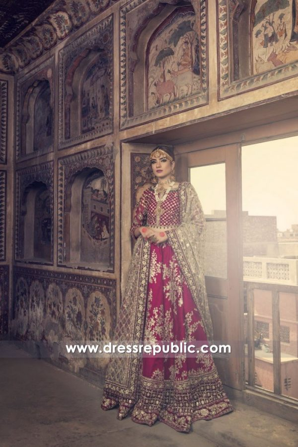 DR15007 Maria B Bridal Lehenga 2018 California, New York, New Jersey, Texas