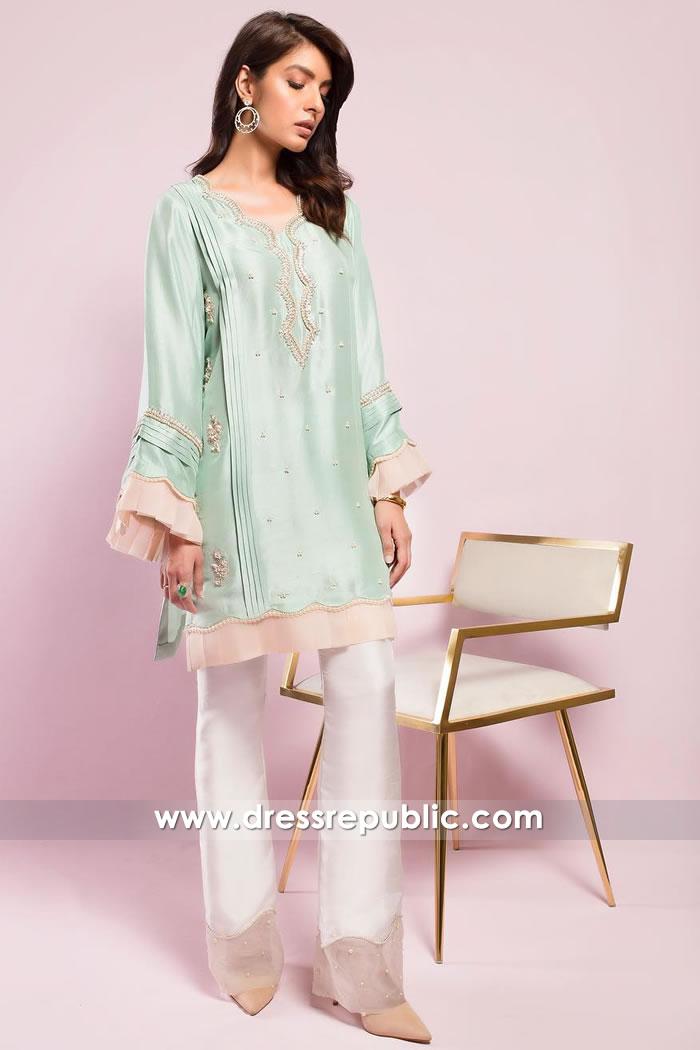 bd78910614 DR15018 Party Wear Pakistani Designer Kurti Winter 2018 Shop Online