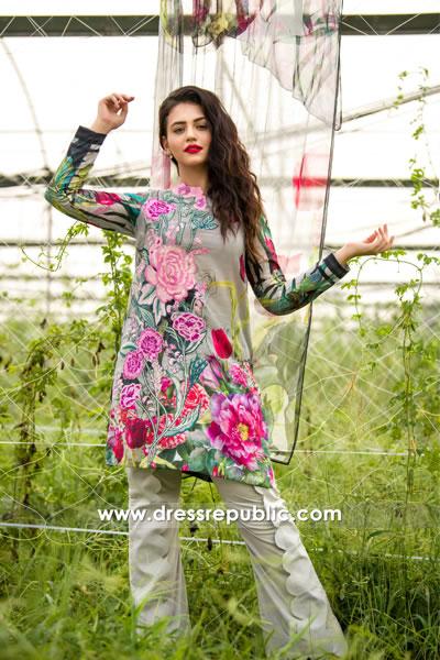 DRP7755 Asifa Nabeel Lawn SS18 USA, Canada, UK, Australia Shop Online