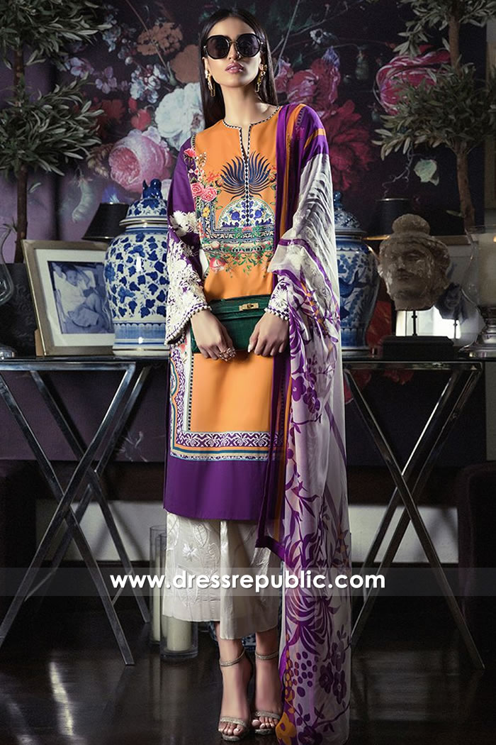 DRP7808 Sana Safinaz Muzlin Vol 3 New York, New Jersey, California, Texas, Illinois