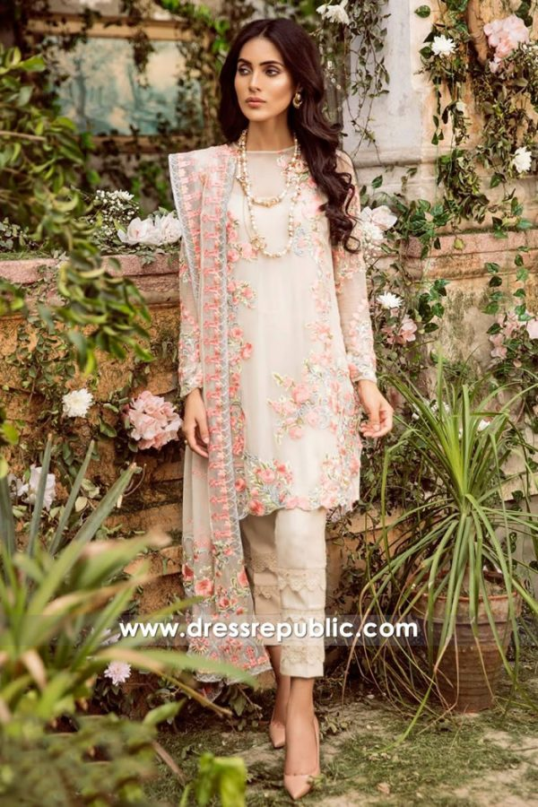DRP7822 Mina Hasan Chiffon Eid 2018 New York, New Jersey, California, Texas