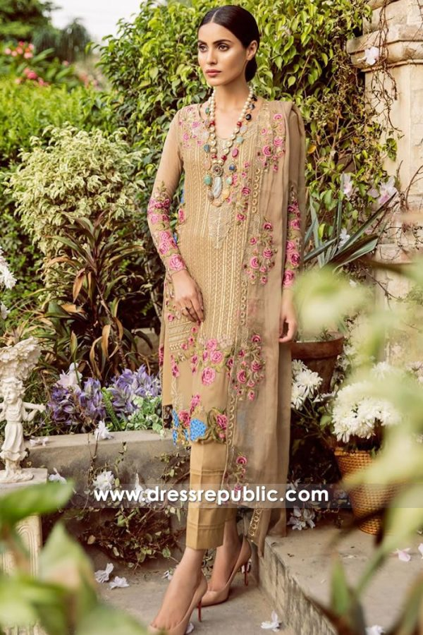 DRP7825 Mina Hasan Chiffon Collection 2018 Dallas, Chicago, Los Angeles, New York