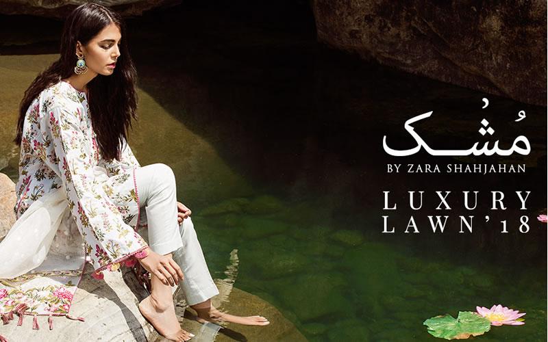 Zara Shahjahan Mushk Luxury Lawn 18 Now Available