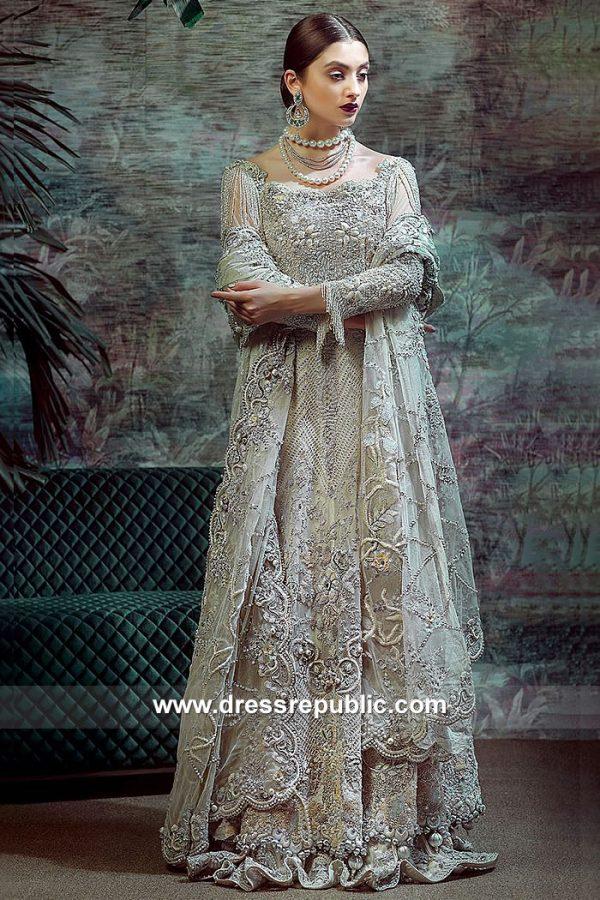 DR15062 Pale Green Bridal Lehenga Online Shopping Asian Bridal Lehenga Canada