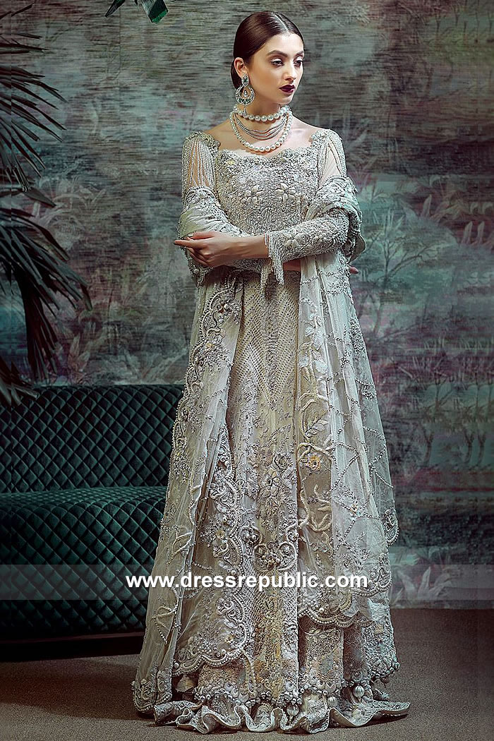 DR15062 Pale Green Bridal Lehenga Online Shopping Asian Bridal Lehenga Canada