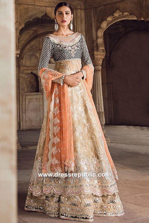 DR15065 Tena Durrani Bridal Price with Custom Tailoring Buy Online in USA