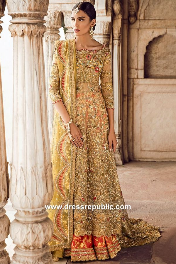 DR15066 Tena Durrani Bridals 2018 London, Manchester, Birmingham, UK
