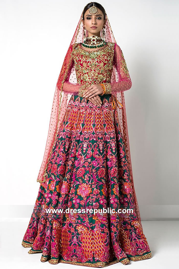 DR15096 Nomi Ansari Bridal Price Shop Online With Worldwide Shipping Service
