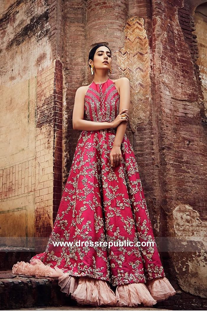 DR15107 Occasion Wear Pakistani Dresses USA Online Shopping 2018 Collection