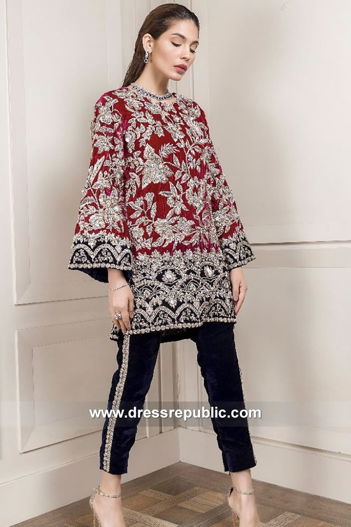 DR15108 Wedding Guest Pakistani Dresses UK Online Shopping 2018 Collection