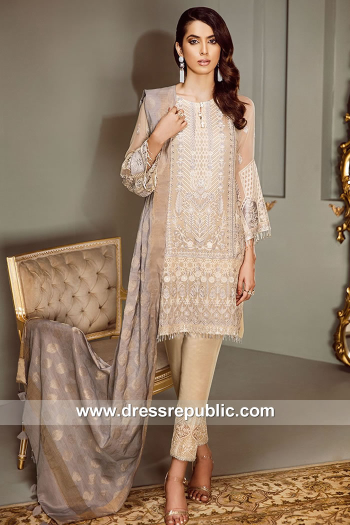 DRP7864 Baroque Chiffon Collection 2018 France, Germany, Netherlands, Denmark