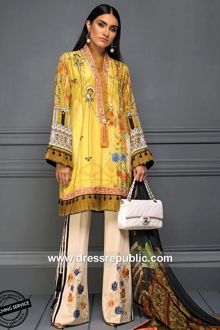 DRP7870 Asim Jofa Raw Silk Collection 2018 Taiwan, Japan, Thailand, Indonesia