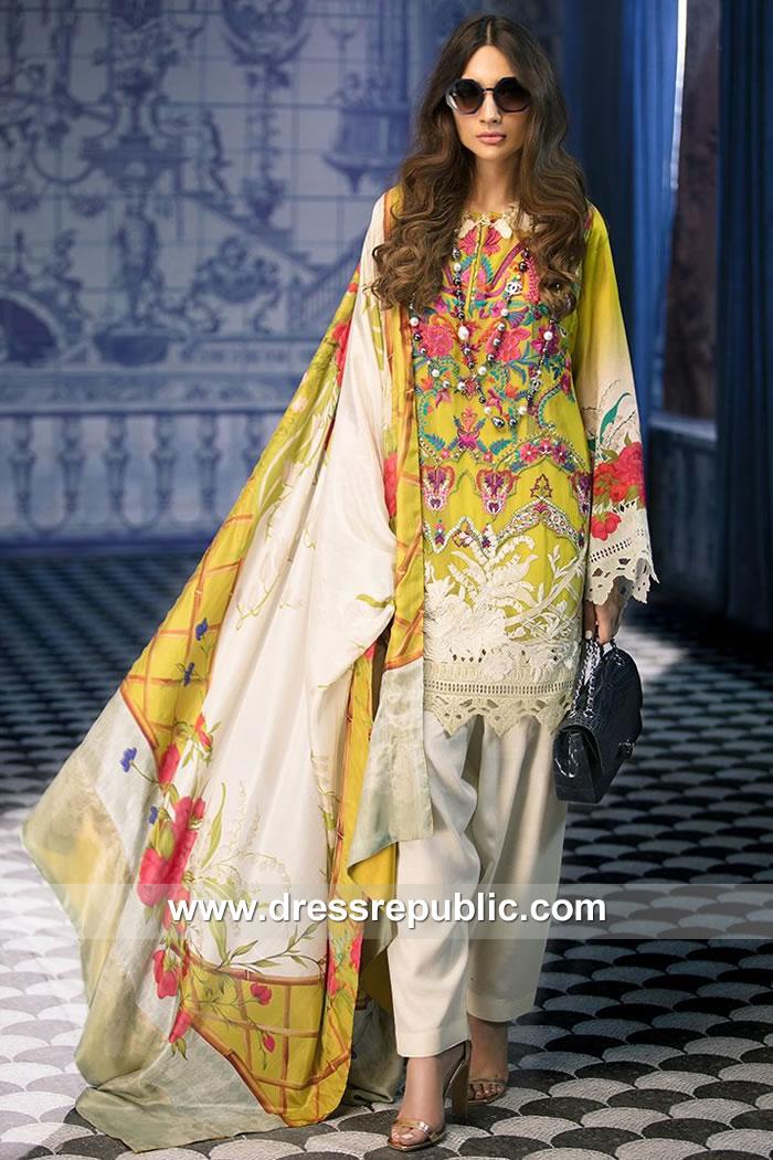 9d82d69550 DRP7873 Sana Safinaz Silk Collection 2018 Saudi Arabia, UAE, Qatar, Kuwait