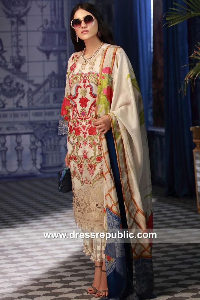 DRP7884 Sana Safinaz Silk Collection 2018 Karachi, Lahore, Islamabad, Faisalabad