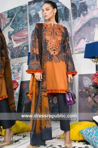 DRP7895 Sana Safinaz Winter 2018 Collection Belfast, Cardiff, Glasgow, Edinburgh