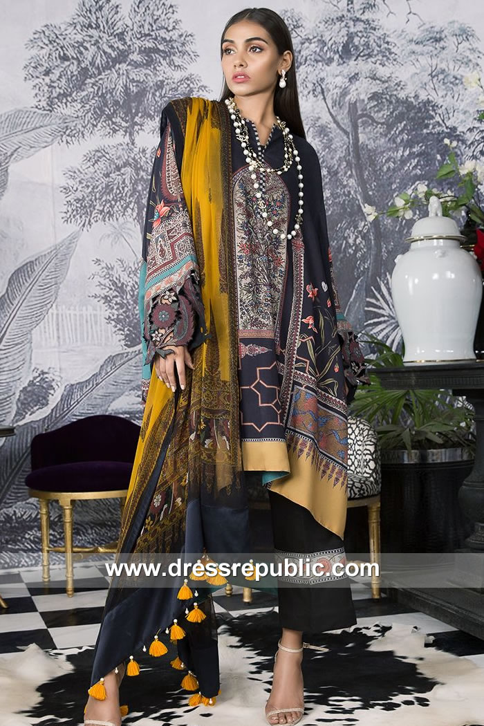 DRP7911 Sana Safinaz Winter Collection 2018 Las Vegas, Baltimore, Louisville