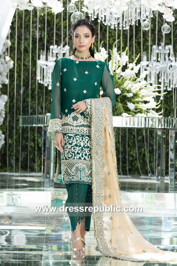 DRP7922 Gulaal Wedding Collection 2018 Norway, Denmark, Sweden, Netherlands