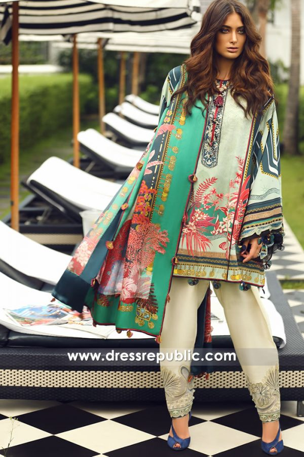 DRP7932 Elan Silk Collection 2018 Karachi, Lahore, Islamabad, Faisalabad Pakistan