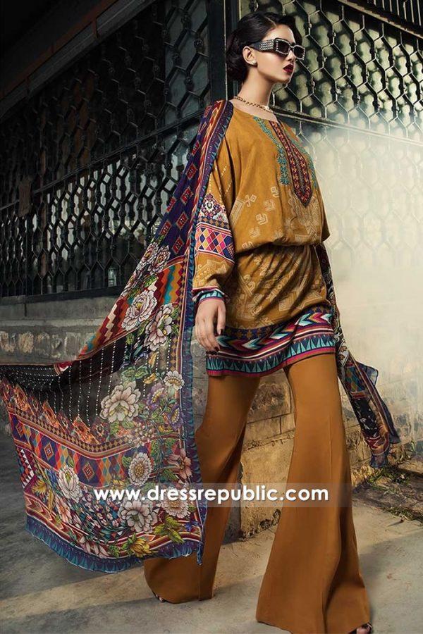 DRP7952 Maria B MPrints 2018 Karachi, Lahore, Islamabad, Faisalabad, Pakistan