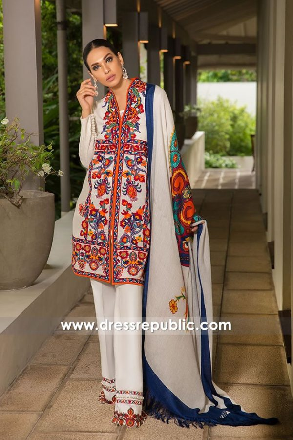 DRP7971 Sana Safinaz Winter Collection Sydney, Perth, Melbourne, Brisbane