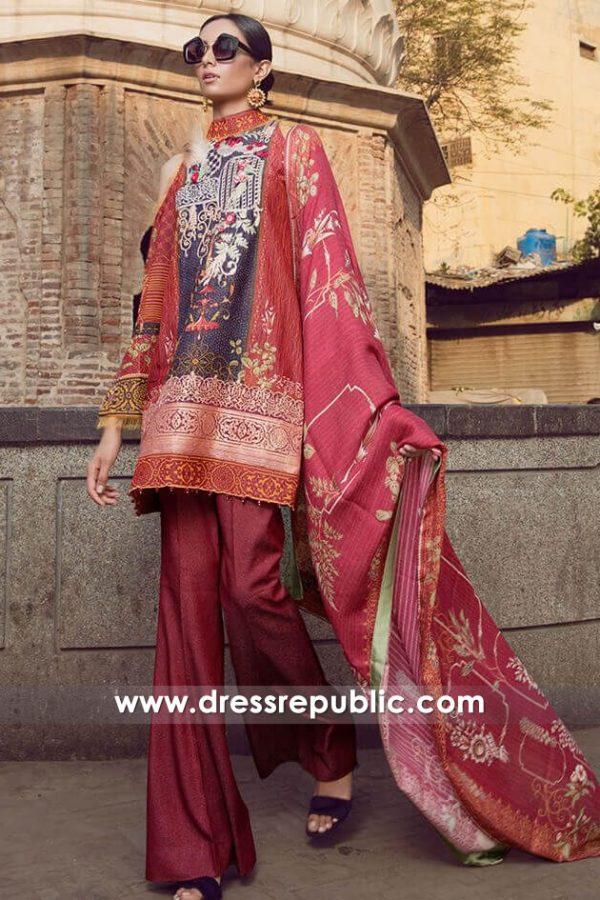 DRP7995 Printed Salwar Kameez Suits for Winter Shop Online in UK, USA, Canada