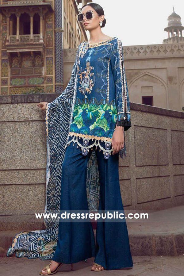 DRP7997 Shalwar Kameez for Winter 2018 Fashion UK, USA, Canada, Europe
