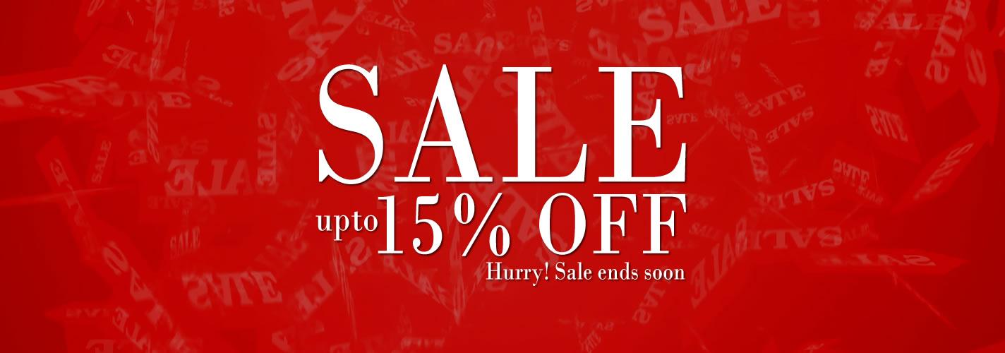 Sale 15% OFF