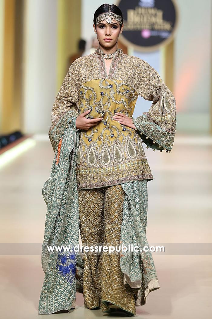 DR15196 HSY Formals 2018 | Mehndi Bride, Henna Bride Dresses Shop Online