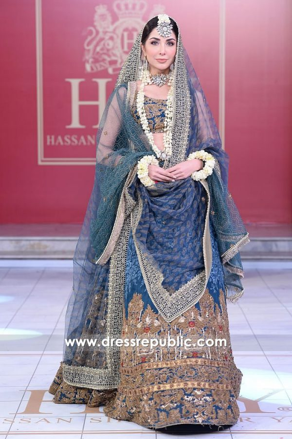DR15199 HSY Bridal Lehenga 2018 Buy Online USA, UK, Canada, Australia