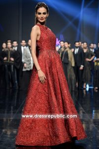 DR15208 HSY Western Gowns Collection PLBW18 Shop Online in USA