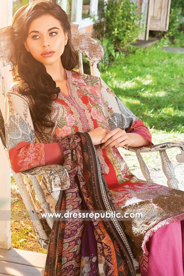 DRP8020 Sobia Nazir Winter 2018 UK | Buy Sobia Nazir Stitched Dresses Online