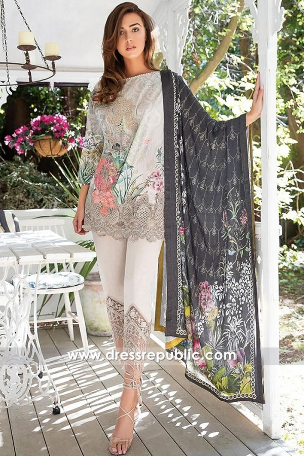 DRP8021 Sobia Nazir Winter 2018 USA | Dress Price with Stitching and Delivery