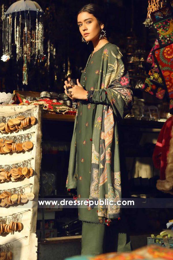 DRP8047 Zara Shahjahan Shawl Collection Alaska, N Dakota, Minnesota, Michigan