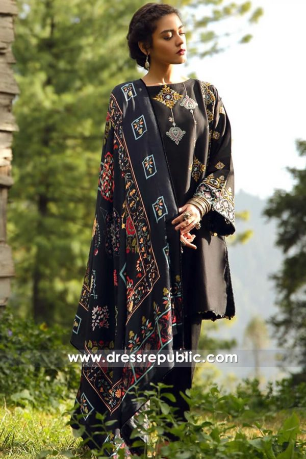 DRP8048 Pakistani Winter Collections 2018 UK, USA, Canada, Norway, Sweden