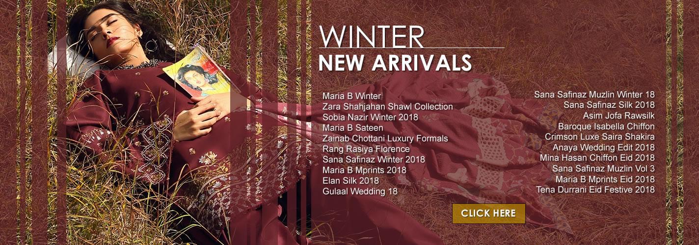 Winter Lawn New Arrivals 2018