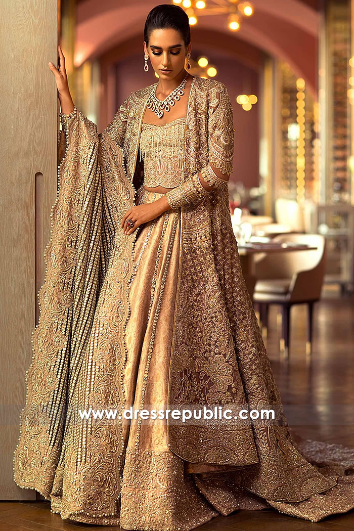 DR15235 Faraz Manan Bridal USA With Price and Made-to-Measure Service