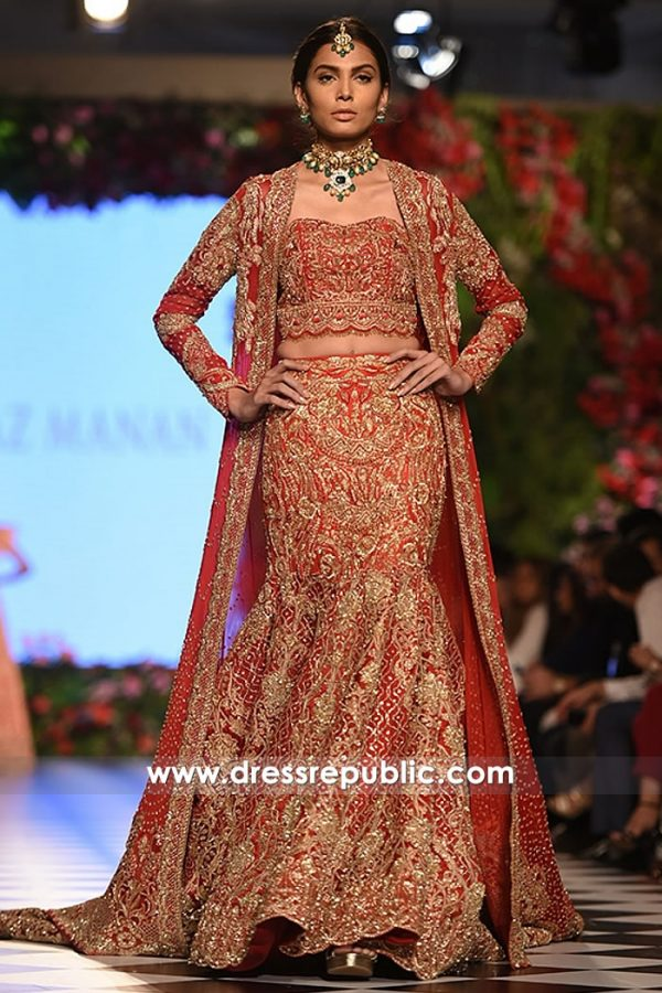 DR15242 Nilofer Shahid Bridal Dress 2018