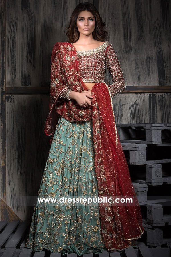 DR15268 Bridal Wear Pakistani Lehenga 2019 Dallas, Houston, San Antonio, Texas